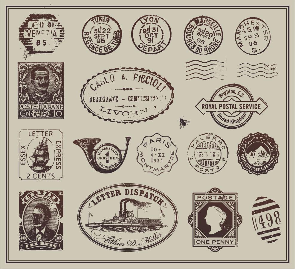 切手 フリー画像
